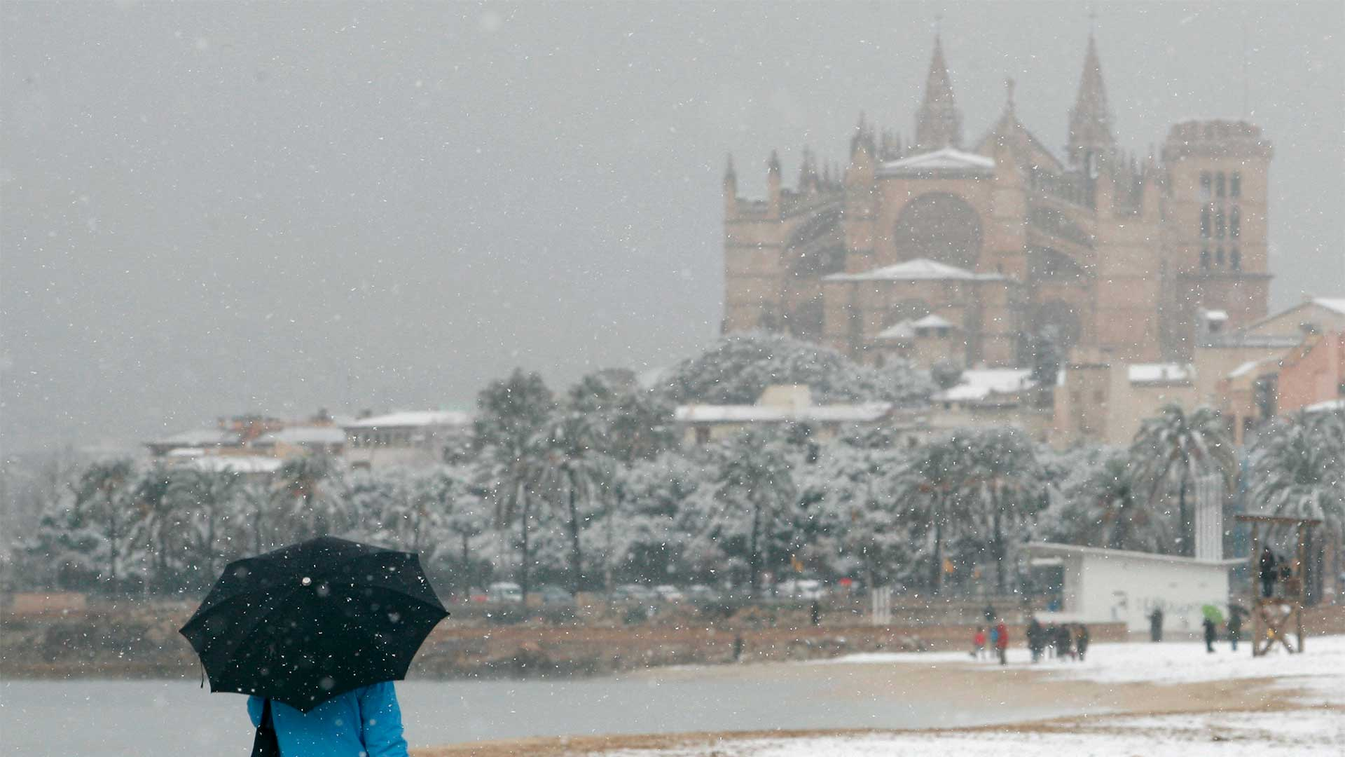 MALLORCA CAN BE A FREEZING PLACE